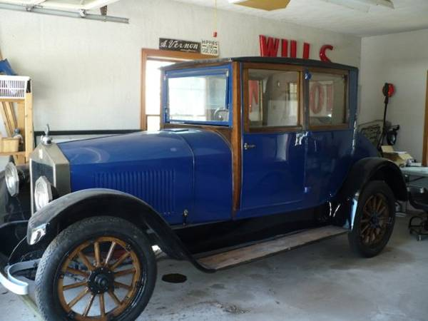 1920 6-48 Moon Coupe/Sedan - Tom Wills