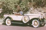 1929 Windsor White Prince Cream Roadster - Marcus Cunnick