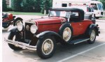 1930 Windsor Red White Prince Roadster - Marcus Cunnick