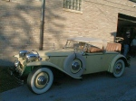 1930 Ruxton Yellow Roadster made by Kissel - Owner Name Withheld