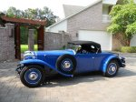 1931 Ruxton Blue Roadster made by Kissel - Owner Name Withheld