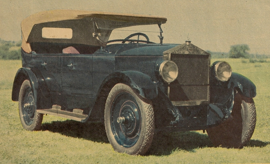 1922 6-40 Touring Moon - Owner Unknown