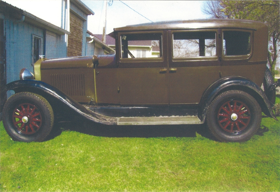 1928 Windsor 6-72 Sedan - Roland Endelman