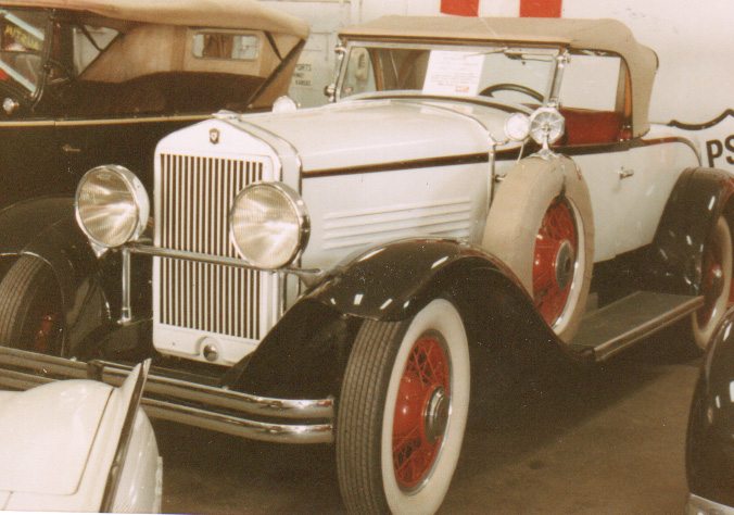1929 Windsor White Prince White Roadster - Owner Unknown